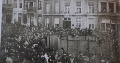 Boschstraot Begraffenis Börgemeister Bauduin 1910