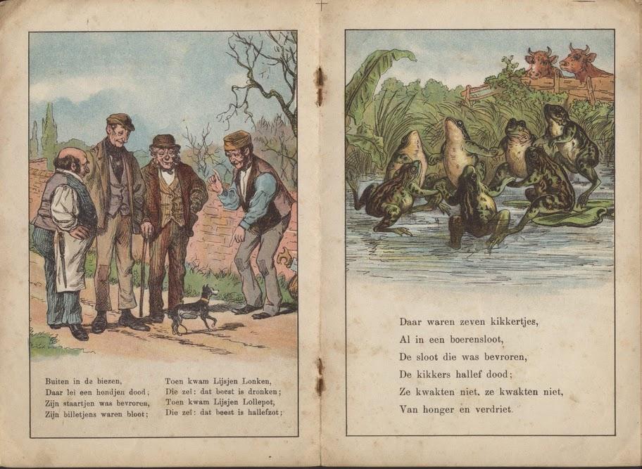 """Daar achter in de biezen van J. Vlieger 1900 """"Tiereliereliere"""""""