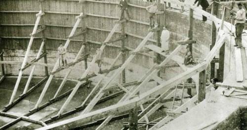 Gaashawwer in aonbouw 1890