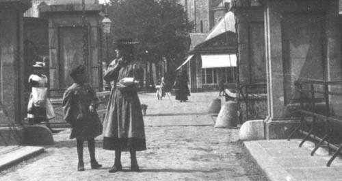 Graonmèrret en ophaolbrögk in 1900