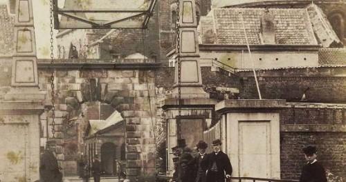Graonmèrret mèt Slevrouwepoort, gesloop in 1868