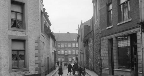 Breusselsestraot/Twiebergerpoort 1920