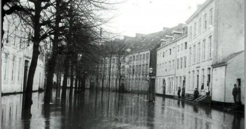Groete Lurestraot watersnoed in 1898