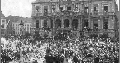 Merret 1913 Bezeuk vaan Kardinaol v. Rossem